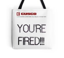 BTTF YOUR FIRED Tote Bag