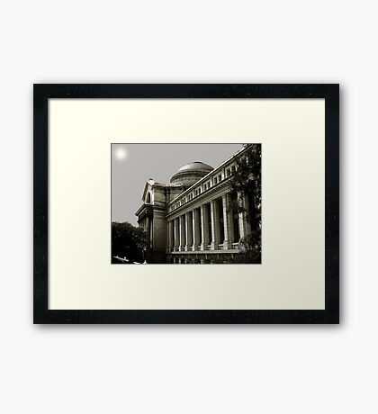 The Smithsonian Building of Natural History Framed Print