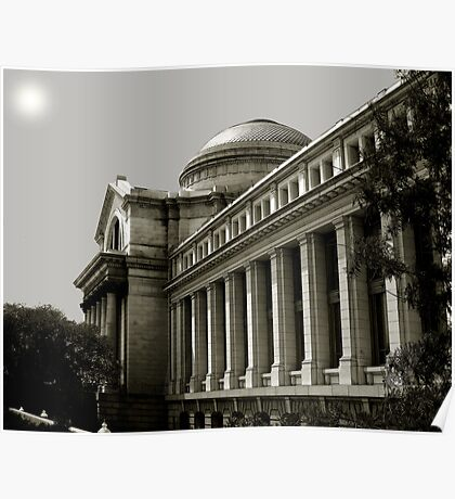 The Smithsonian Building of Natural History Poster