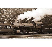 Trains Photographic Print