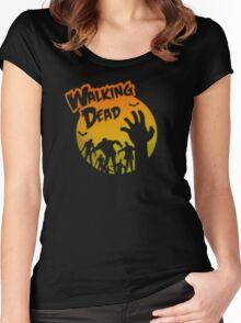 Walking Dead Women's Fitted Scoop T-Shirt