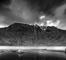 Helvellyn from Red Tarn by Colin Payne
