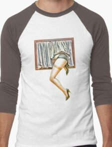 Window girl Men's Baseball ¾ T-Shirt