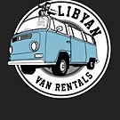 Back to the Future 'Libyan Van Rentals' Logo by Creative Spectator