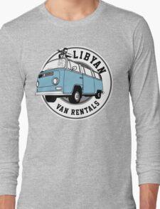 Back to the Future 'Libyan Van Rentals' Logo Long Sleeve T-Shirt