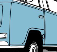 Back to the Future 'Libyan Van Rentals' Logo Sticker