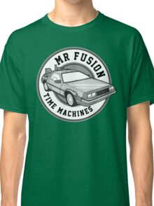 Back to the Future Mr Fusion Time Machines Classic T-Shirt