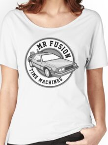 Back to the Future Mr Fusion Time Machines Women's Relaxed Fit T-Shirt