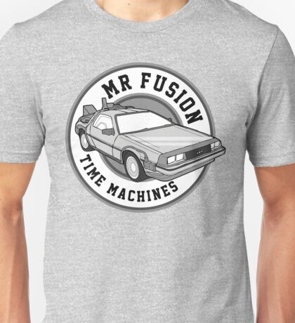 Back to the Future Mr Fusion Time Machines T-Shirt