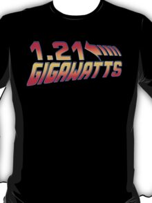 Back to the Future 1.21 Gigawatts T-Shirt