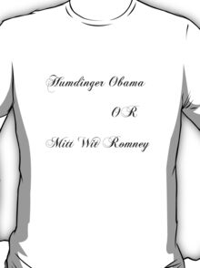 US Presidential candidates T-Shirt