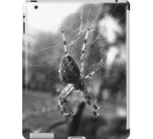 Black And White Spider iPad Case/Skin