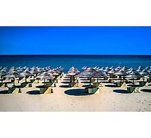 beach in Italy Photographic Print