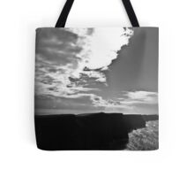 Ireland in Mono: Beaten By The Storm Tote Bag