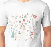 Baby fox pattern 03 Unisex T-Shirt