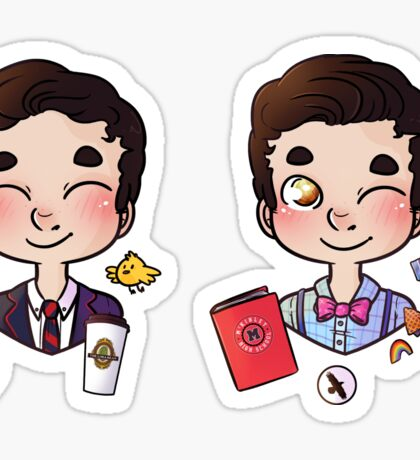 5 years of Blaine Anderson Sticker