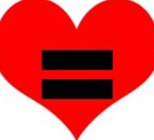 Love Equality Sticker