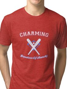 Charming Grandsons of Anarchy Little League Tri-blend T-Shirt