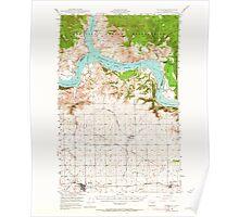 USGS Topo Map Washington State WA Wilbur 244692 1948 62500 Poster