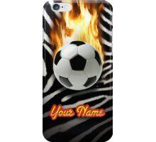 Soccer Ball Zebra (Customizable) - iPhone Case iPhone Case/Skin