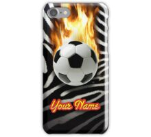 Soccer Ball Zebra (Customizable) - iPhone Case iPhone Case/Skin