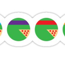 PizzaPie Chart Sticker