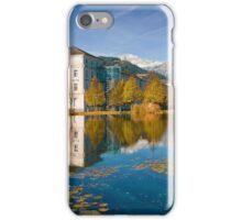 Stift Admont in autumn iPhone Case/Skin