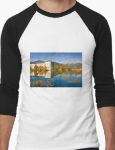Stift Admont in autumn Men's Baseball ¾ T-Shirt