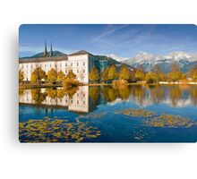 Stift Admont in autumn Canvas Print