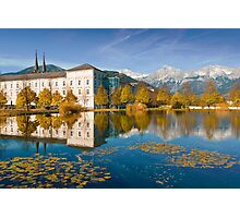 Stift Admont in autumn Photographic Print