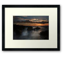 West Cork Sunset- Ireland Framed Print