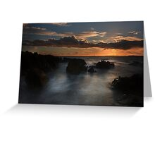 West Cork Sunset- Ireland Greeting Card