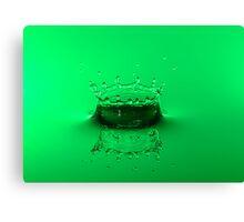 Emerald Crown Canvas Print