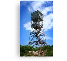 Red Hill Fire Tower Canvas Print