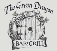 The Hobbit Green Dragon Bar & Grill Shirt by hopper1982