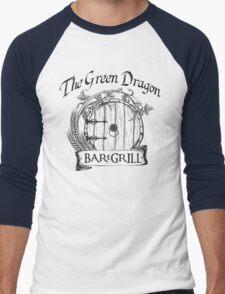 The Hobbit Green Dragon Bar & Grill Shirt Men's Baseball ¾ T-Shirt