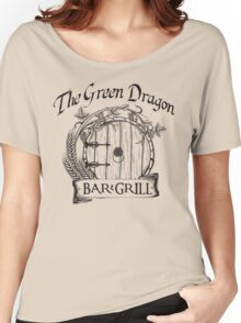 The Hobbit Green Dragon Bar & Grill Shirt Women's Relaxed Fit T-Shirt