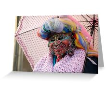 Pierced and colourful Greeting Card