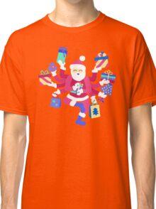 Dancing Pastel Shiva Claus Classic T-Shirt