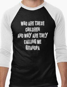 Funny Grandpa Men's Baseball ¾ T-Shirt