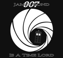 James Bond: Time Lord (dark version) One Piece - Short Sleeve