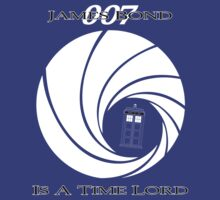 James Bond: Time Lord (dark version) by Dane Ault