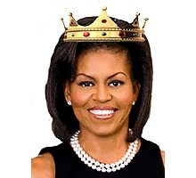Michelle Obama Photographic Print