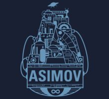 Forever Asimov (light blue) by olivertrigger