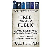 Doctor Who - Tardis evol Photographic Print