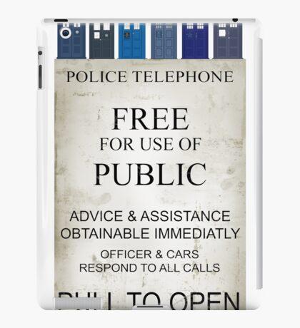 Doctor Who - Tardis evol iPad Case/Skin