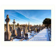 The Distance - Glasnevin Cemetery - Dublin Art Print