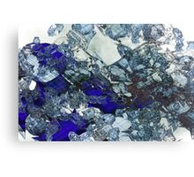 Glass Mess - Abstract render Canvas Print