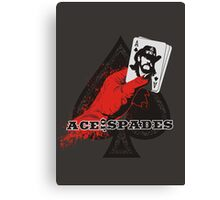 ACE OF SPADES Canvas Print