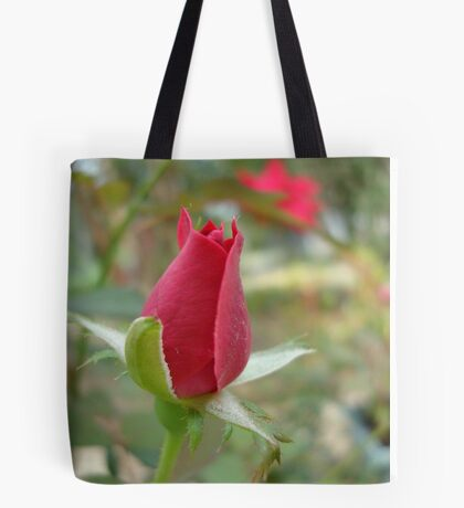 LITTLE RED ROSEBUD Tote Bag